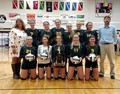 Lady Mustangs Volleyball SHAC Division I Champs  image