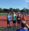 LCMS Student Steven Elliott Places 3rd in 50 M Dash and Softball Throw at Ohio Special Olympics Summer Games image