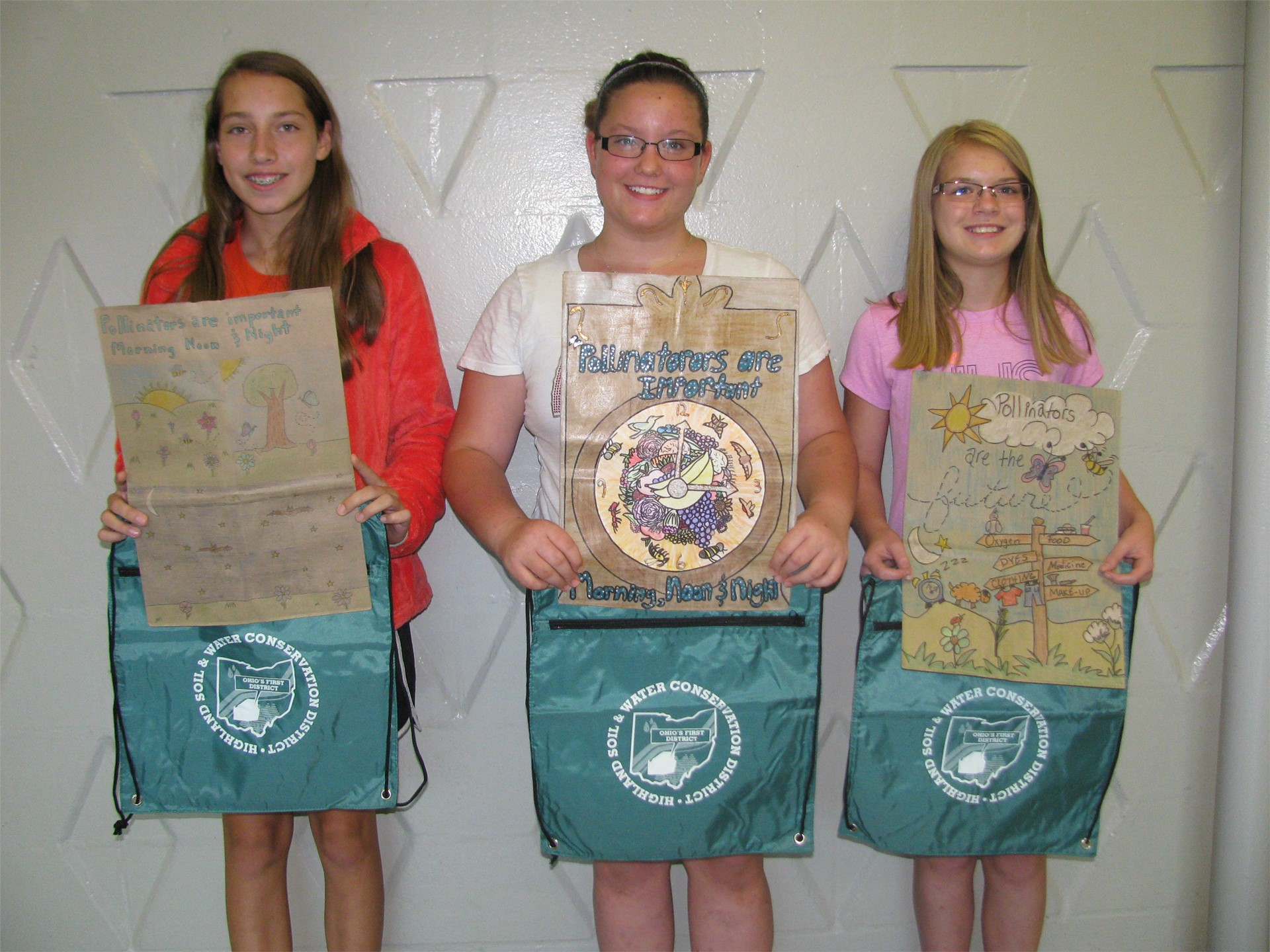 Highland County Soil and Water Conservation Poster Contest Winners