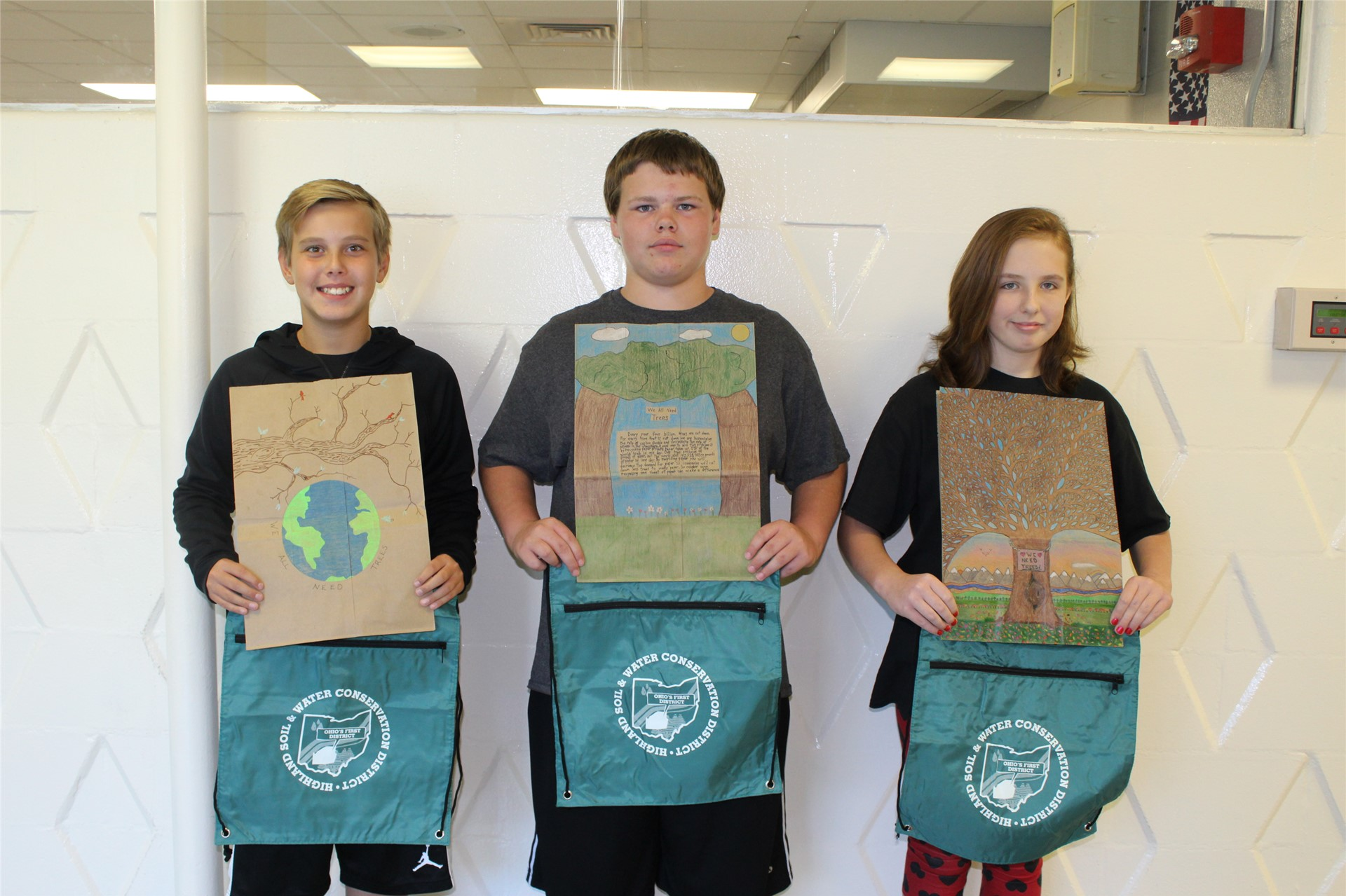 Highland County Soil and Water Conservation District's Poster Winners