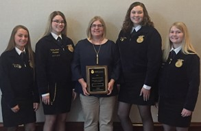 Nationally Gold Rated LC FFA Milk Quality Team
