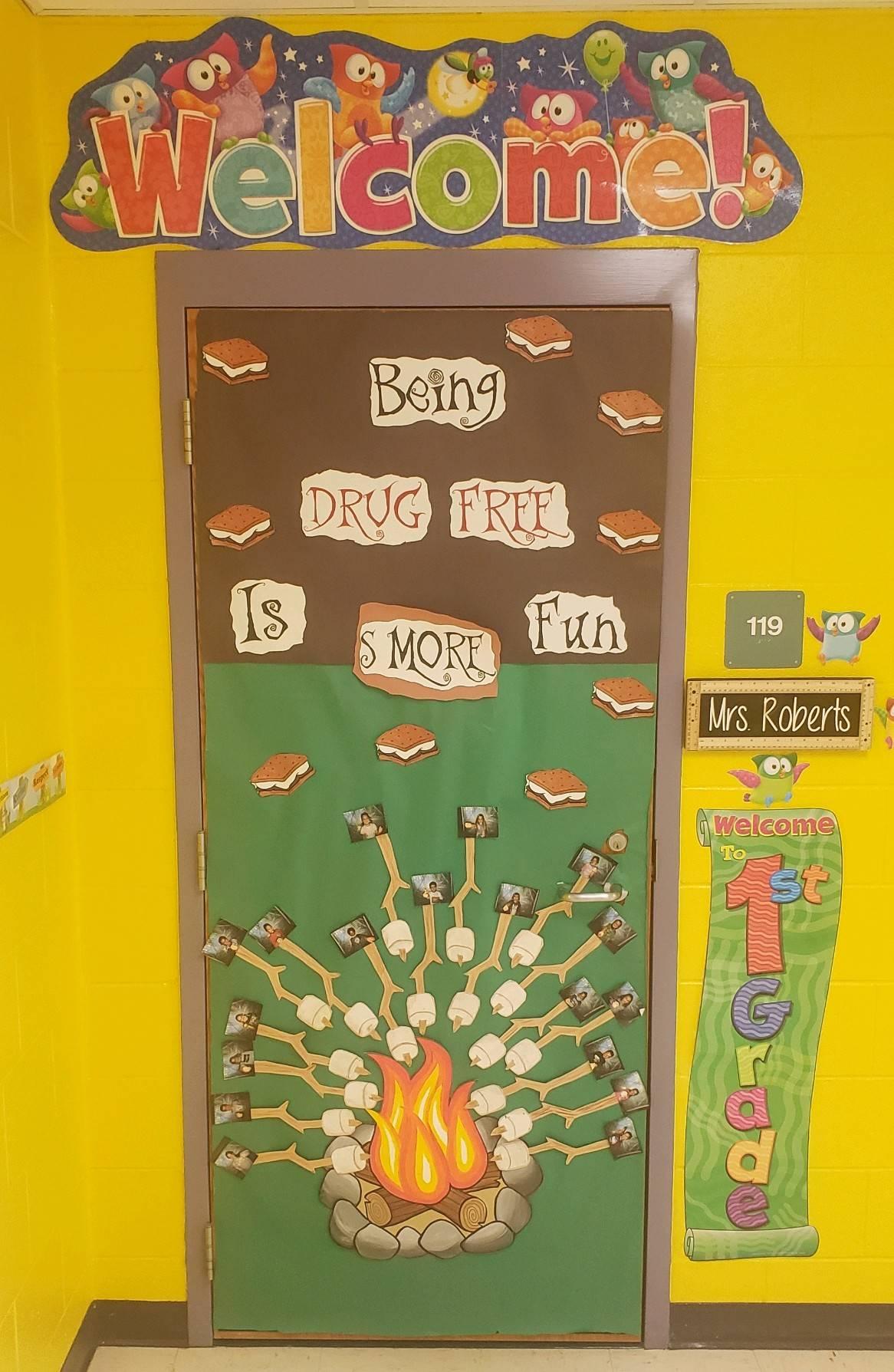 1st Grade Winners - Mrs. D. Roberts